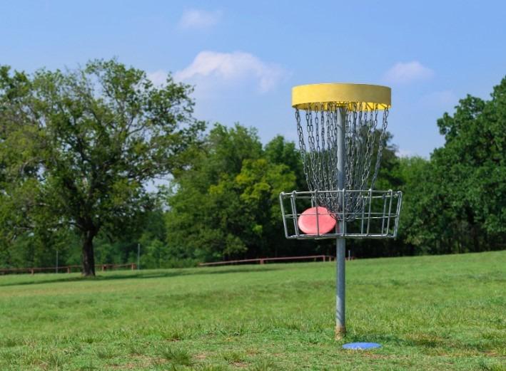 disk golf v naravi