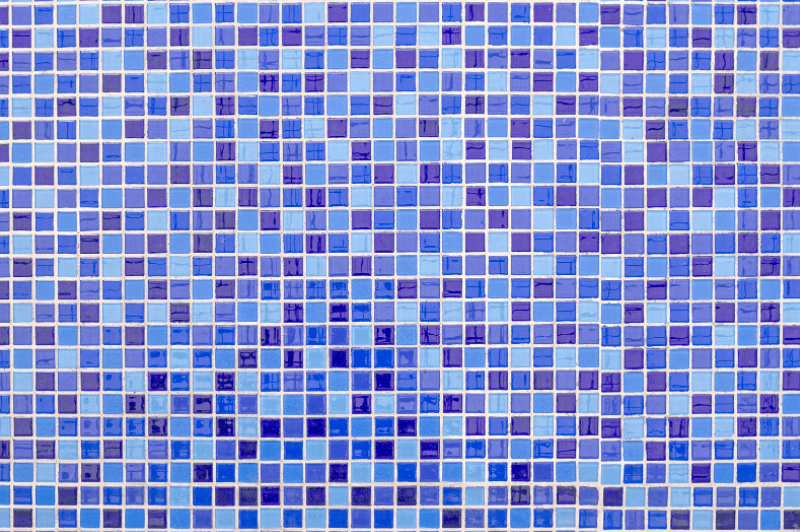 mozaik narejen iz ploščic